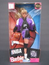 Nba Sacramento Kings 1998 Barbie Doll Authentic Nba Team Uniform