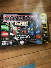2013 Hasbro Monopoly Empire Gold Edition Board Game.  Pre-Owned Great Condition