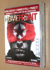 """Homefront Promo Preorder Box includes T-Shirt & Dog Tag Xbox 360 PS3 """"NO GAME"""""""