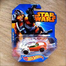Disney STAR WARS Hot Wheels LUKE SKYWALKER #3 diecast Mattel INTL X-Wing pilot