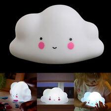 LED Lamp Bulb Lovely Cloud Smile Face Night Light Children Bedroom Decor Mini