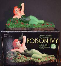 DC Direct Poison Ivy Statue Maquette  LE 2100 w/COA NIB Animated BatMan