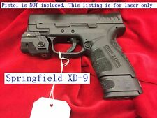 Rechargeable Compact GREEN Laser for pistol Ruger SR9 SR40 Glock Springfield