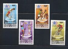 Cameroun #C309-312 1984 Los Angeles Olympics  MNH Superb $8.90