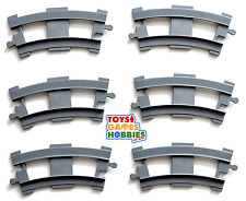 *NEW* LEGO DUPLO 6x Curved Train Track Rail Accessory Parts Thomas Bridge Engine