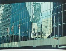 C. J. Yao Building Entex 1981 Siebdruck Ching Jang Us-Taiwanese Künstler