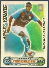 TOPPS MATCH ATTAX 2008-09-ASTON VILLA-LIMITED EDITION-ASHLEY YOUNG