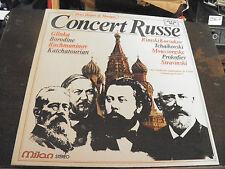 concert russe  2 disques Milan n°  MI 150 -  2 heures de musique