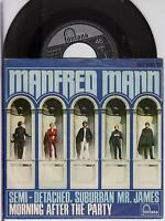 "MANFRED MANN - Semi-Detached, Suburban Mr. James - 1966 German 7"" vinyl single"