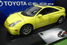 TOYOTA CELICA GT-S 2000 Jaune Yellow LHD au 1/18 AUTOart 78723 voiture miniature