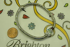 Nwot Brighton frosty chilly snowman christmas bangle bracelet magnetic closure