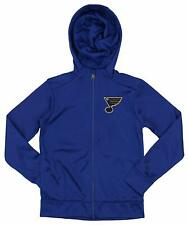 Outerstuff NHL Youth/Kids St. Louis Blues Performance Full Zip Hoodie