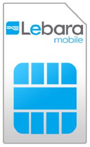 Lebara Holland niederländische Prepaid SIM Karte * SIM ist sofort einsatzbereit