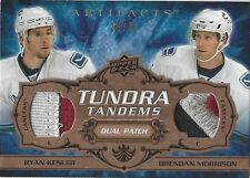 Ryan Kesler/Brendan Morrison 2008-09 Artifacts Tundra Tandems #TTMK  25/35