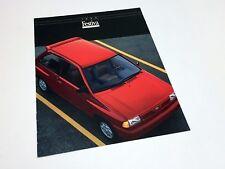 1993 Ford Festiva Brochure