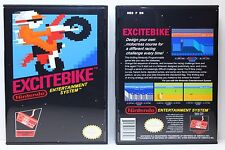 Excitebike - Nintendo NES Custom Case - *NO GAME*