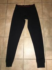 MARKER mens Black baselayer cold weather Snowboarding Skiing legging size Small