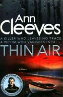 Thin Air, Paperback by Cleeves, Ann, Brand New, Free shipping