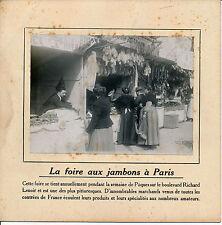 PARIS c. 1910 - Boulevard Richard Lenoir Foire aux Jambons - 85