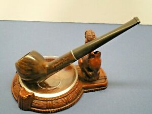 """KLEENEST DELUXE"" New Old Stock pipe pre 1959 briar L@@K!"