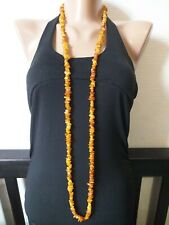 Natural Baltic Amber beads. 48.1 gr. Necklace