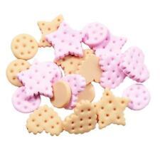 20x Kawaii Cookies Resin Flatback Cabochon Scrapbooking Embellishments Craft