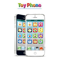 Kids Simulator Music Cell Phone Toy Touch Screen Educational Learning Child Gift