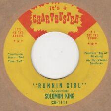 Solomon King Runnin Girl Chartbuster Soul Northern Motown
