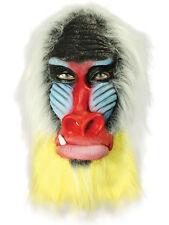 Adulto Chango Monkey Ape Máscara Overhead animal de látex de caucho Fancy Dress Africana