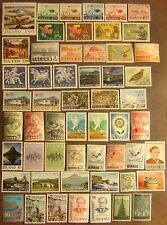 Iceland 55 Different Mint Never Hinged F-VF