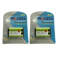 2 × Home Phone Rechargeable Battery for Panasonic HHR-P104A/1B HHR-P104 Type 29