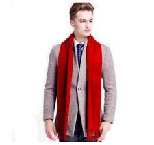 Fashion Mens Scarf Fringed Tassel Winter Classic Warm Wrap Christmas Gift