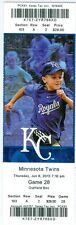 2013 Royals vs Twins Ticket: Lorenzo Cain, Royals rally for 4 runs in 8th