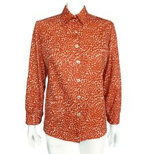 Vintage 1970's Disco Hippy Halloween Cosplay Costume Top Womens Shirt M/L- 477