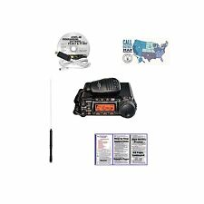 Yaesu FT-857D Radio and Accessories Bundle