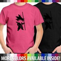 Unisex Tee Youth T-Shirt Boy Girl Gift Shirt Anime Young Son Goku Kakarot Kids