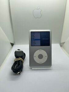 Apple iPod Classic 7. Generation Silver Gray 160GB Used Condition #65