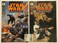 STAR WARS Comics Devilworlds Complete Series 1 & 2 of 2 Issue Set 1996