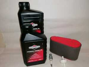 Service Tune up Kit Mountfield 1436M (2008-2013) Oil, Plug, Fuel & Air Filter