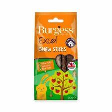 Burgess Excel Gnaw Sticks Willow Apple Hazel for Small Pet Rabbit Guinea Pig 90g