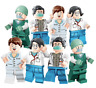 LEGO MATTONCINI DOTTORI INFERMIERI GREYS ANATOMY 12 PERSONAGGI MODELLI EROI 2020