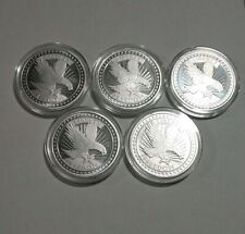 1 oz silver rounds Lot Of 5