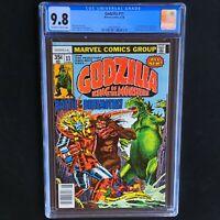 "GODZILLA #11 (Marvel Comics 1978) 💥 CGC 9.8 💥 ""Battle of the Behemoths!"""