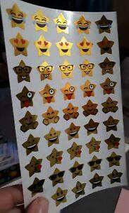 🦁💜Mrs Grossman's 1 großer Abriss Star Emotions Scrapbooking Sticker 💜🦁