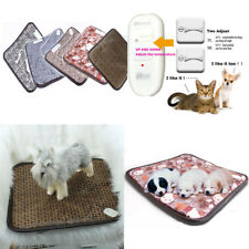 Electric Heated Bed Heating Pad Warmer Bed for Dog Cat Puppy Kitten Waterproof