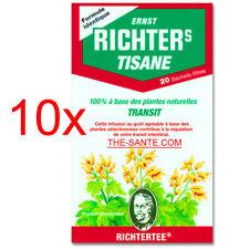 10x Tisane Richters du Dr Ernst RICHTER'S ( Thé Richter) -Transit