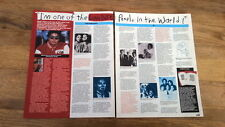 MICHAEL JACKSON 'lonely boy' 2 page UK ARTICLE / clipping