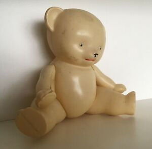 Vintage Russian celluloid bear toy