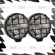 """1 x Pair 5.5"""" Round Fog Light With Stone Lens Guard For Off Road Truck Jeep SUV"""