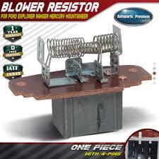 HVAC Heater Blower Motor Resistor for Ford Explorer Ranger Mountaineer 1995-2011